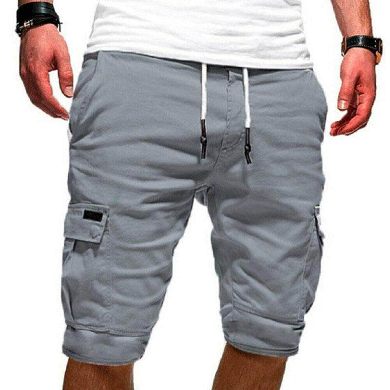 Mens Casual Camo Shorts Combat Short Pants Military Army Cargo Work Trouser