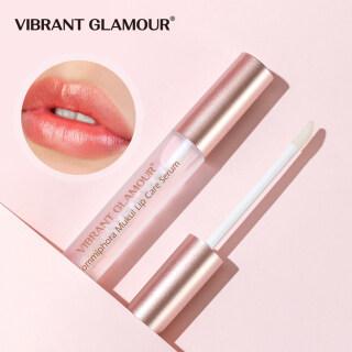 Serum Bibir Masker Pemadat Bibir, Penambah Volume Bibir Dinamis Meningkatkan Elastisitas Bibir Mengurangi Garis Halus Pelembap 4Ml thumbnail