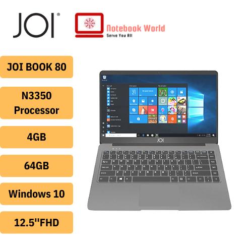 JOI BOOK 80 /12.5 FHD Laptop (Celeron N3350, 4GB, 64GB, WIFI, W10) Malaysia
