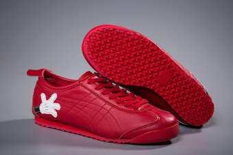 โอนิสซึกะไทเกอร์ผู้ชายผู้หญิง Staplex ฟิตเนสบาสเกตบอลวิ่งกีฬารองเท้า-