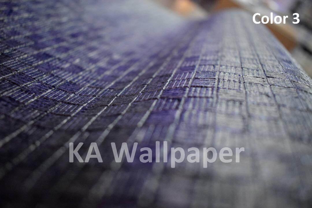 Mosaic Deep Embossed Thick Premium Quality wallpaper kertas dinding Korea made