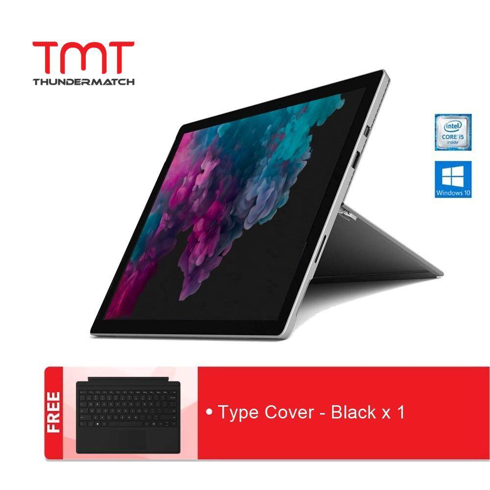 Microsoft Surface Pro 6 - I5-8250U | 8GB | 256GB + Type Cover Black Malaysia