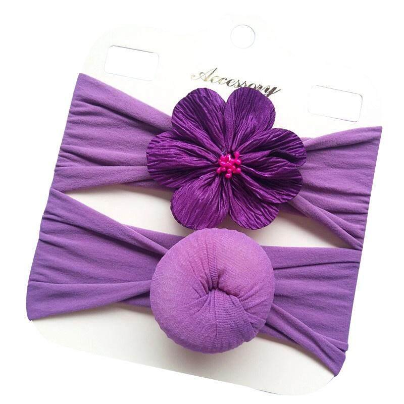 Baby Girls Flower Design Headband Headwear Apparel Photography Prop Party Gift