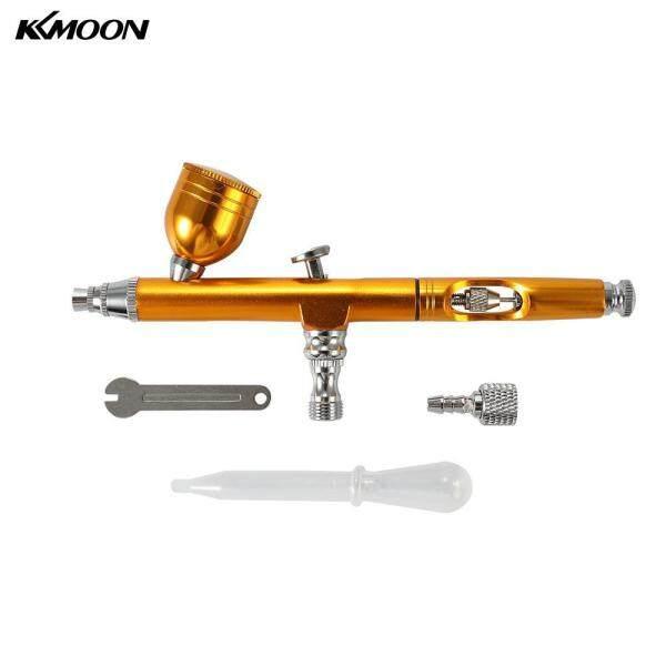 Bộ bút phun sơn nén khí cỡ nhỏ Kkmoon bằng chất liệu hợp kim nhôm dùng để trang trí bánh/vẽ hình xăm nghệ thuật móng tay/vẽ phác thảo - INTL