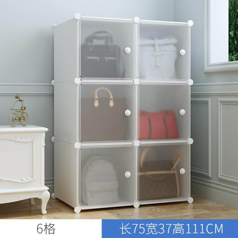 Wardrobe IKEA Childrens Wardrobe Cloth Wardrobe Single Storage Baby Baby Locker Plastic Assembly Cartoon Cabinet