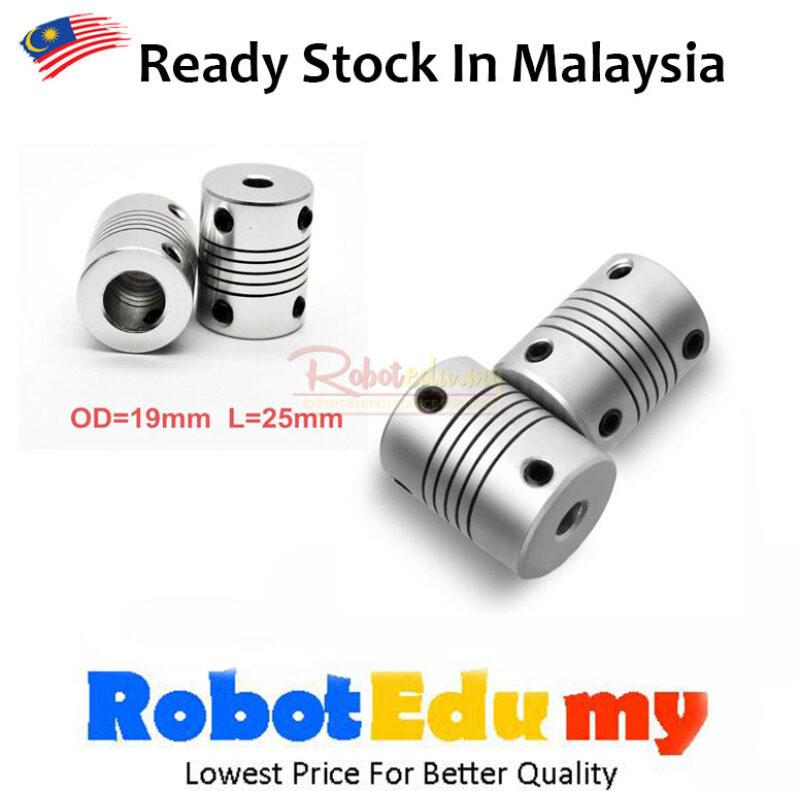 Aluminium CNC Motor Jaw Shaft Coupler Flexible Coupling Motor Shaft Coupling 3mm 4mm 5mm 6mm 8mm 10mm