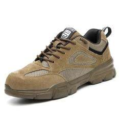 QINHUIZE giày bảo hộ lao động nhẹ, mũi thép chống va đập, chống trượt an toàn – INTL