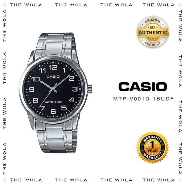 [100% Original] Casio Watch For Men Jam Tangan Lelaki  MTP-V001D-1BUDF for man (1 Year Warranty) Malaysia