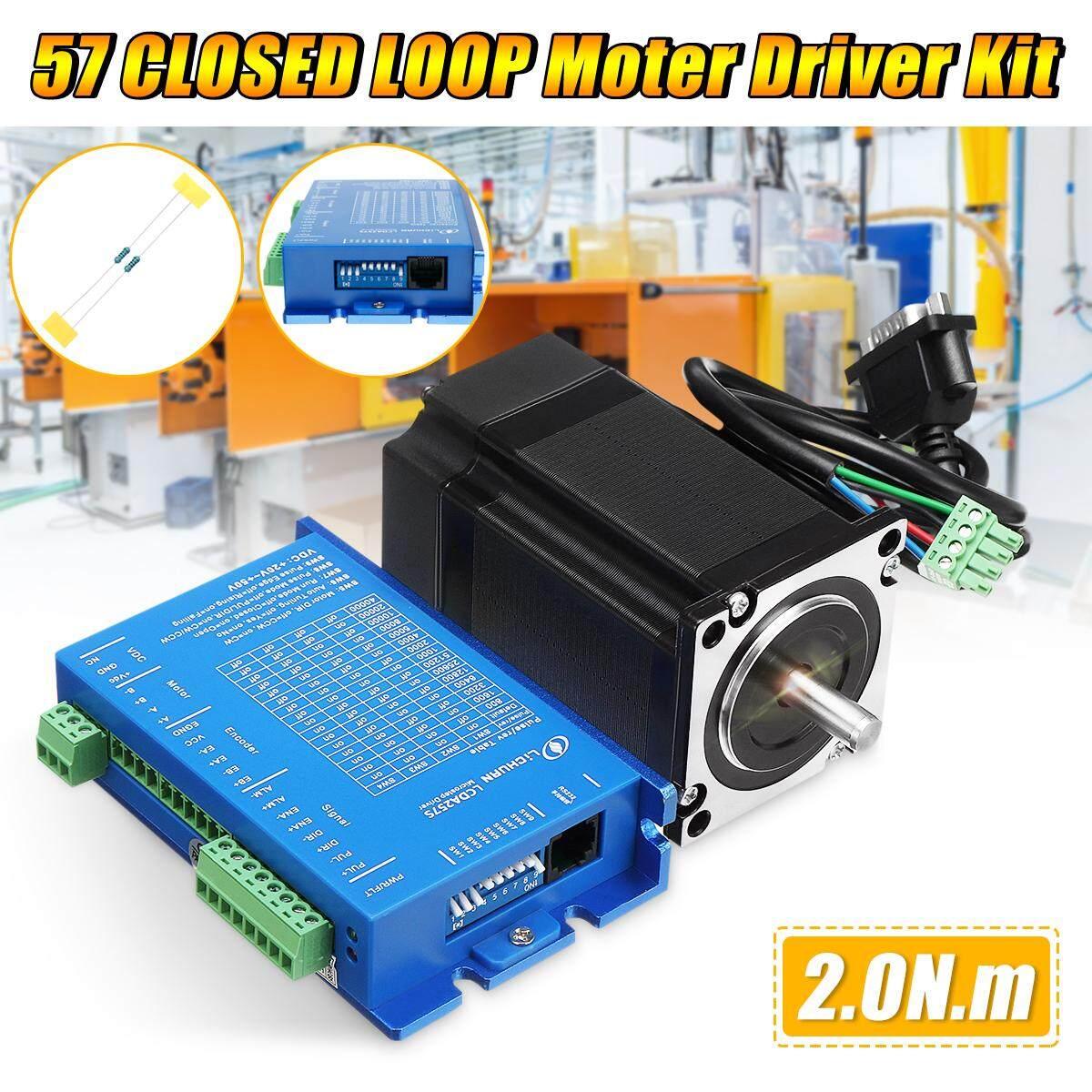 Baru 2 Phase 57 Loop Tertutup Motor Steper 2 N.m. Driver Kit Lcda257s + Lc57h276 By Motorup.