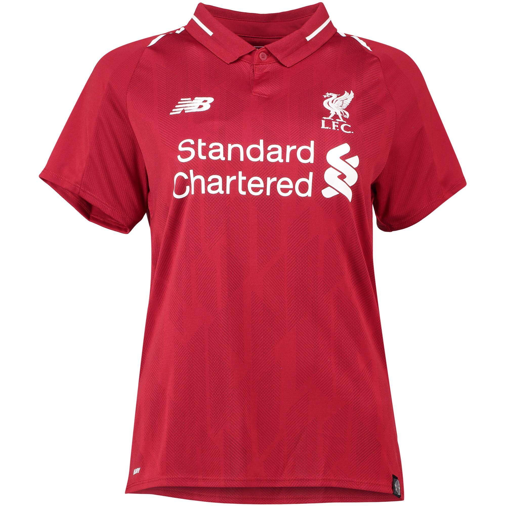Liverpoolfc Home Jersey 2018/19 Ladies By Sport Library.