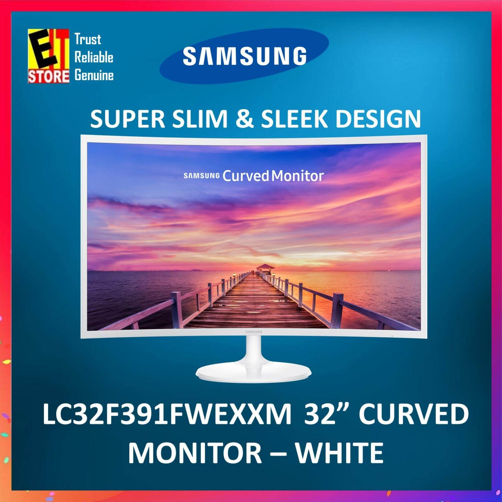 SAMSUNG LC32F391FWEXXM 32 Curved LED Monitor with ultra slim design Malaysia