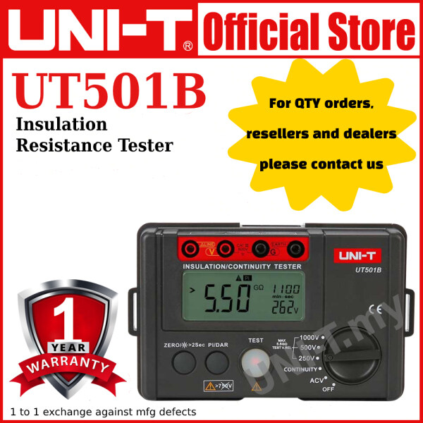 UNI-T UT501B Insulation Resistance Tester