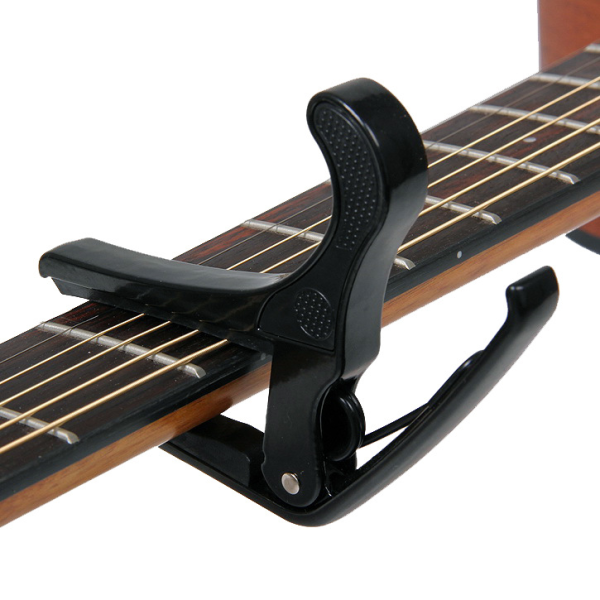 Quick Change Clamp Key Acoustic Classic Guitar Capo For Tone Adjusting for Electric Acoustic Guitar Ukulele-2 free guitar picks Malaysia