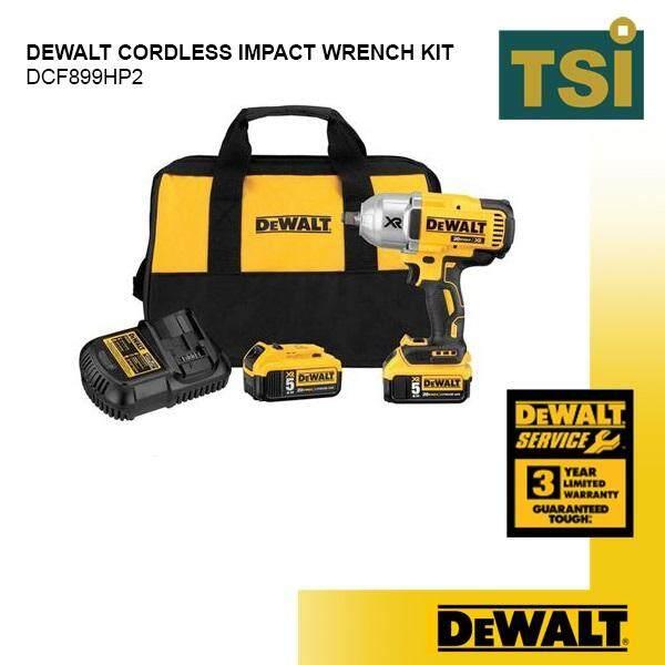 DeWalt DCF899HP2 Cordless Impact Wrench Kit