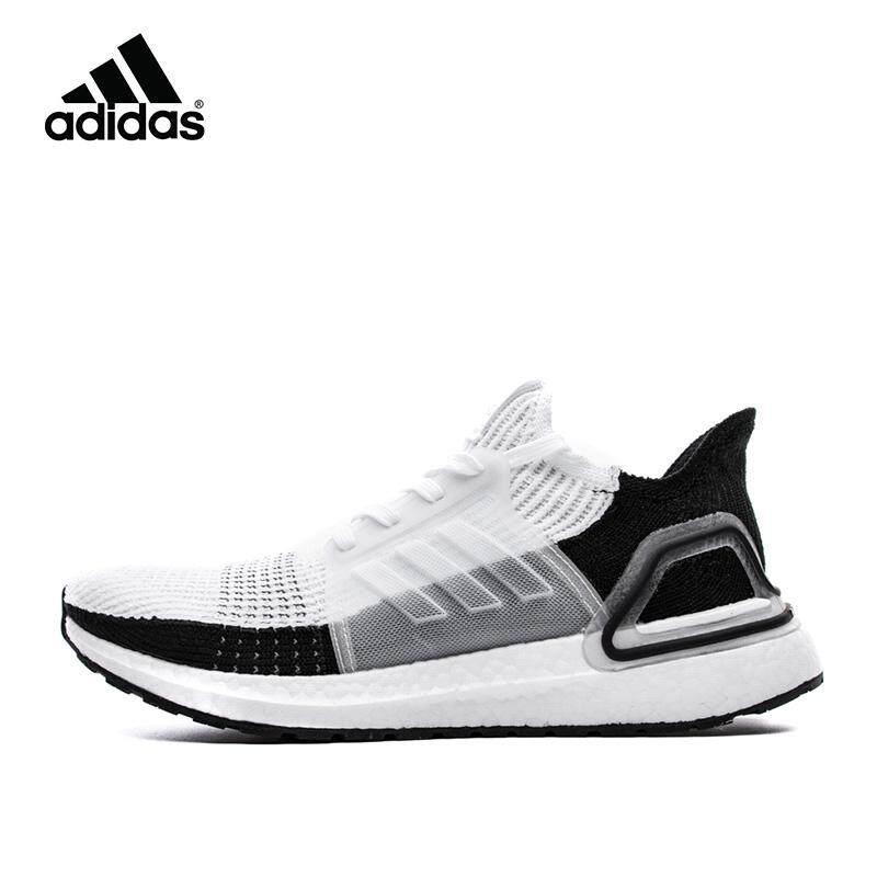 * Terbaru 3 Hari Promosi * 【Spot】 Asli! ADIDAS_Ultra BOOST 5.0 UB5.0 Lari Pria Sepatu Kasual untuk Pria dan Wanita B37707 Putih/Hitam