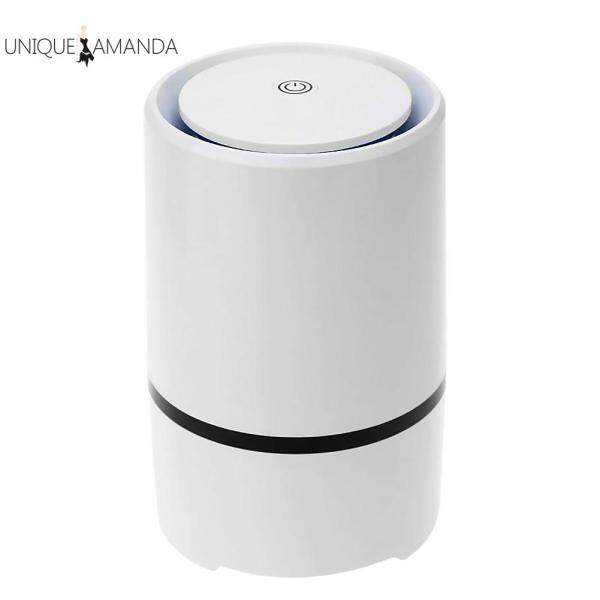 Portable Air Purifier HEPA Filter Ultra Silent Home Desktop Negative Ion Odours Fresh Cleaner Singapore