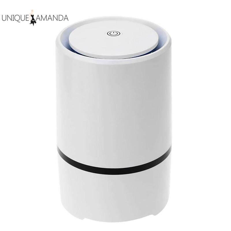 Portable Air Purifier HEPA Filter Ultra Silent Home Desktop Negative Ion Odours Fresh Cleaner Singapore