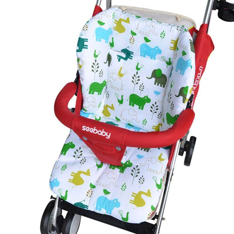 1* Soft Thick Warm Universal Seat Cushion Cart Liner Baby Pushchair Mat Stroller Pad Singapore