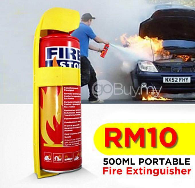 Portable Fire Stop, Fire Extinguisher 500ml By Potensishop.