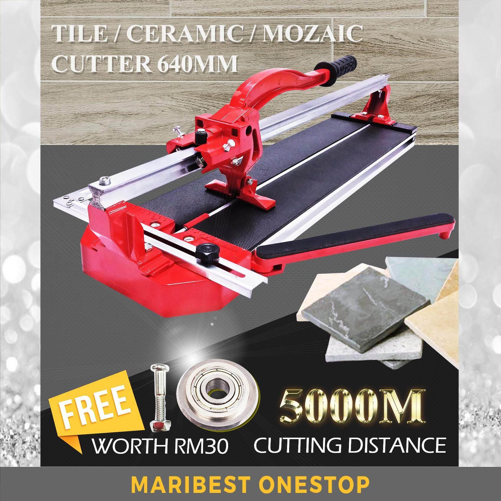 FINDER FD830-1 Heavy Duty 640MM Tile Cutting Machine Mozaic Cutter Free 1Pcs Cutting Wheel