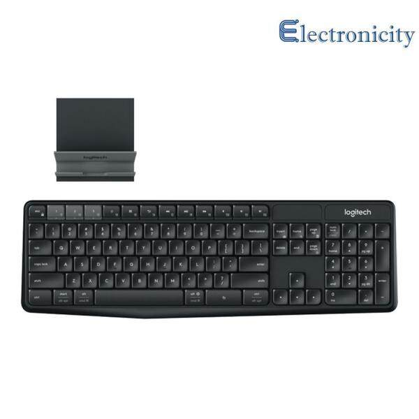 K375S 104 Keys Bluetooth 2.4GHz USB Wireless Keyboard w/ Stand Singapore