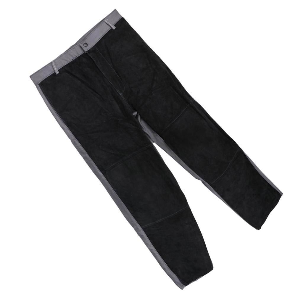 BolehDeals Welding Suits Heat/Flame Resistant Heavy Duty Anti-scald Pants