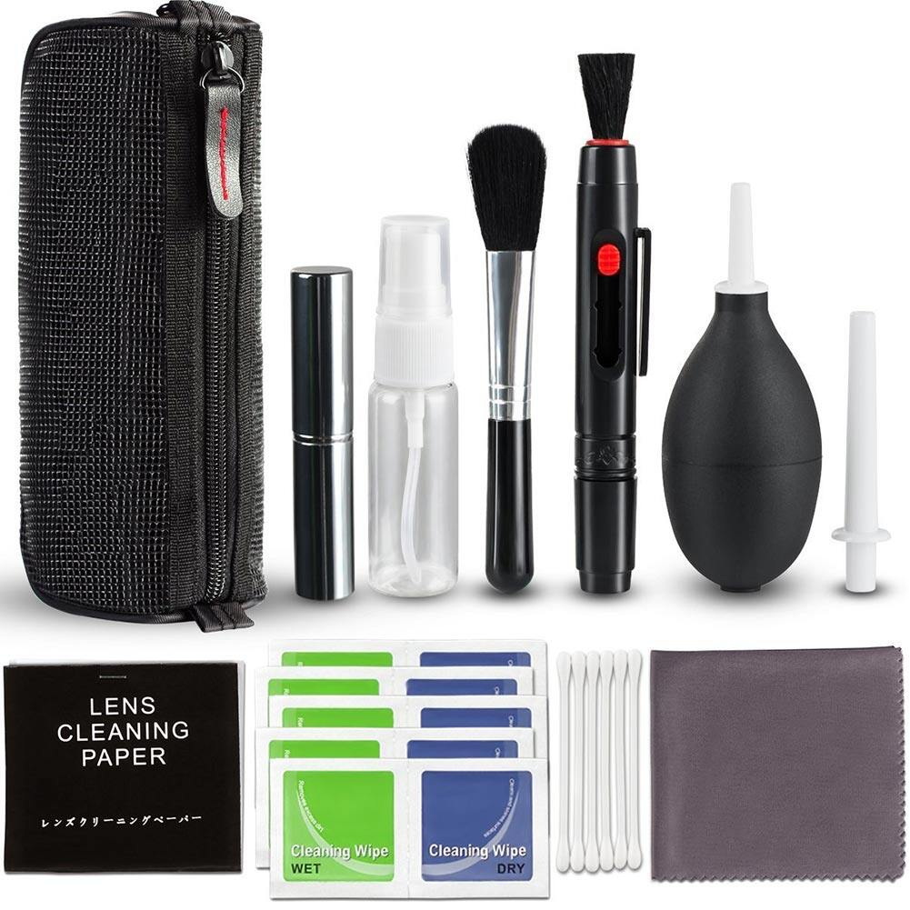 Cleaner Kit Equipment Eco-Friendly Room Photo Cleaning Brush Set Professional Fan Non-Toxic Practical Digital Camera Tools.