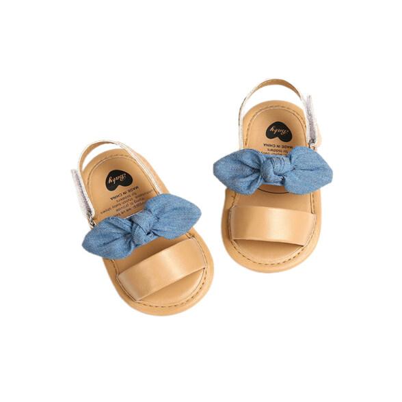 Giày Có Nơ Dễ Thương Cho Bé Gái, Giày Mùa Hè Chống Trượt, Đế Mềm, Dành Cho Trẻ Sơ Sinh Và Bé Gái, Pearlbabys giá rẻ