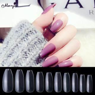 500 cái móng tay giả làm bằng acrylic với 10 kích cỡ khác nhau dùng trong việc nối móng - INTL thumbnail