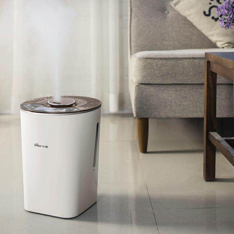 Bear Jsq-c40n3 Humidifier Home Mute Bedroom Pregnant Women Baby Intelligent Antibacterial Air Purifier Wetness Singapore