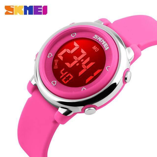 Skmei เด็กแฟชั่นใหม่นาฬิกากีฬากันน้ำนาฬิกาปลุกปฏิทิน Backlit นาฬิกาเด็กดิจิตอลนาฬิกาเด็ก By Shang Hai Shuai Mall.
