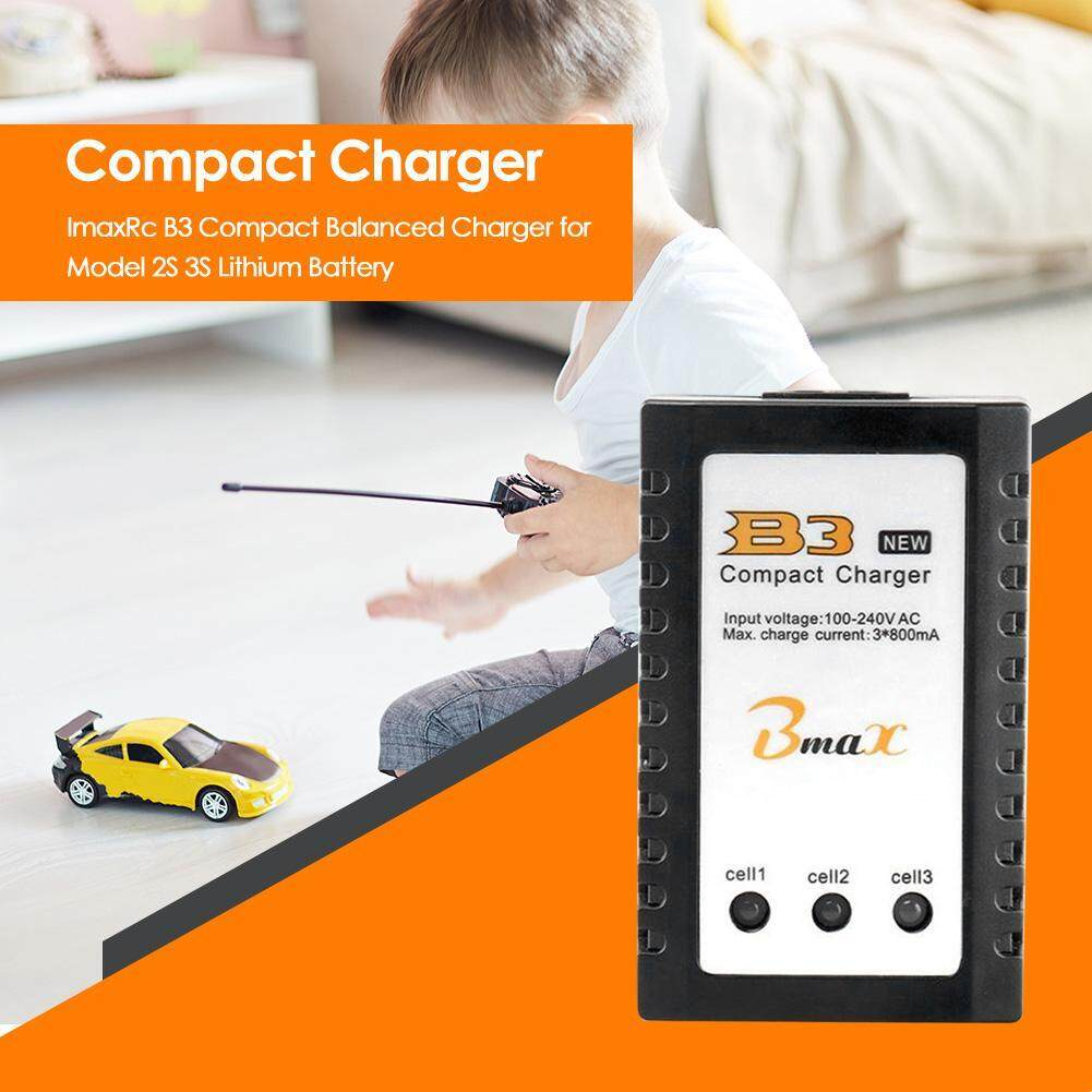 [Chinatera] ImaxRc B3 Compact Balanced Charger for Model Airplane 2S 3S Lithium Battery