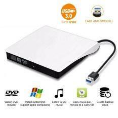 Ổ Đĩa DVD USB 3.0 Bên Ngoài DVD ± RW Trình Ghi CD-RW Cho PC Máy Tính Xách Tay Mac Trình Ghi DVD Bên Ngoài