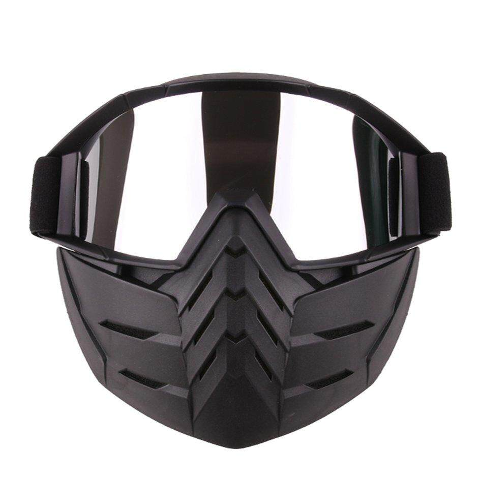 HERE Motorcycle Cross Country Windshield And Air Permeable Goggles Exquisite Mask