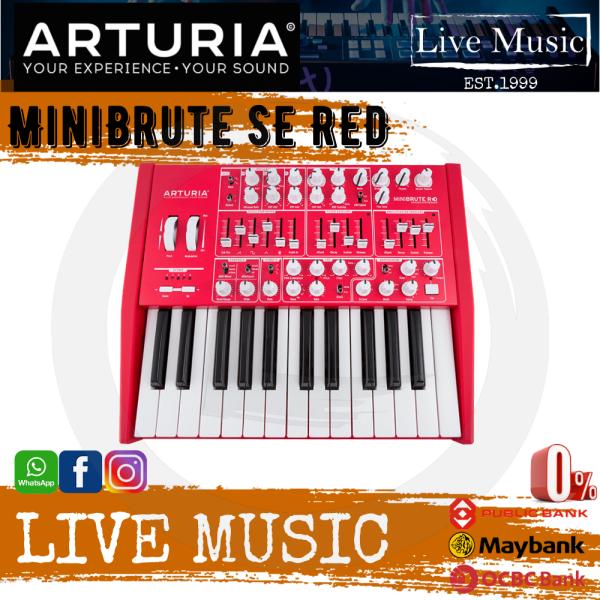 Arturia Minibrute SE Analog Synthesizer - Red Malaysia