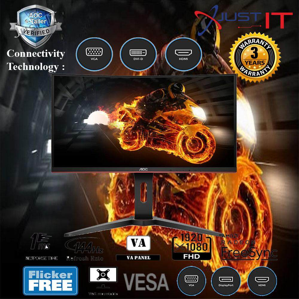 AOC C27G1 27 144HZ 1MS CURVE FHD AMD FREESYNC GAMING MONITOR Malaysia