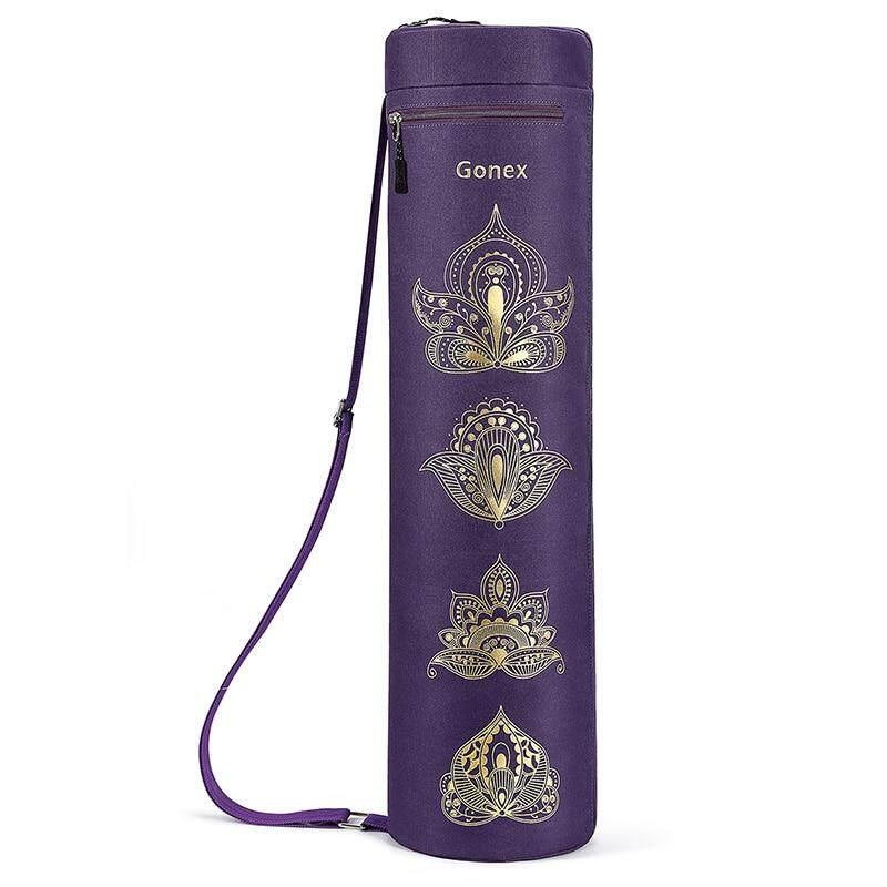 Bảng giá Gonex Túi Đựng Thảm Yoga, Full-ZIP Tập Gym Mang Theo Túi Chống Thấm Nước Bền Vải Oxford Với 2 Túi dây Đeo Vai Có Thể Điều Chỉnh