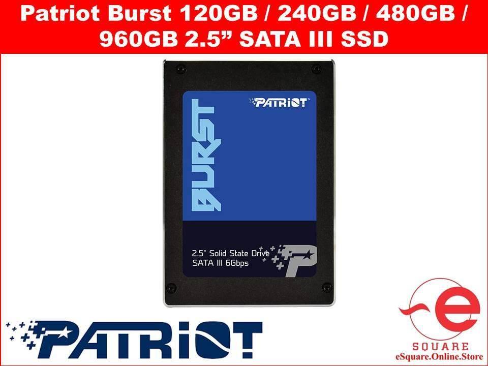 Patriot Burst 2.5 SATA SSD 120GB / 240GB / 480GB / 960GB