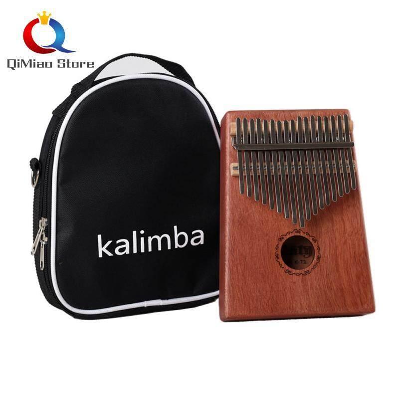 17 Keys Kalimba Mbira Calimba African Thumb Piano Finger Percussion Malaysia