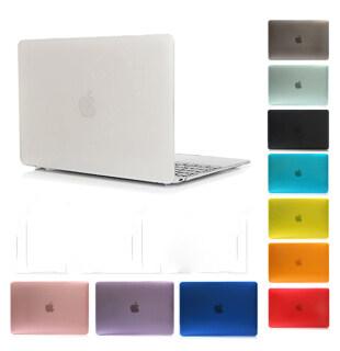 Ốp Lưng Máy Tính Xách Tay Mờ Mới Túi Đựng Máy Tính Xách Tay Cho Apple Macbook Air Pro Retina 16 15 13 12 11 Inch Ốp Lưng 2020 Cho Mac Book Touch Bar ID Air Pro 13.3 thumbnail