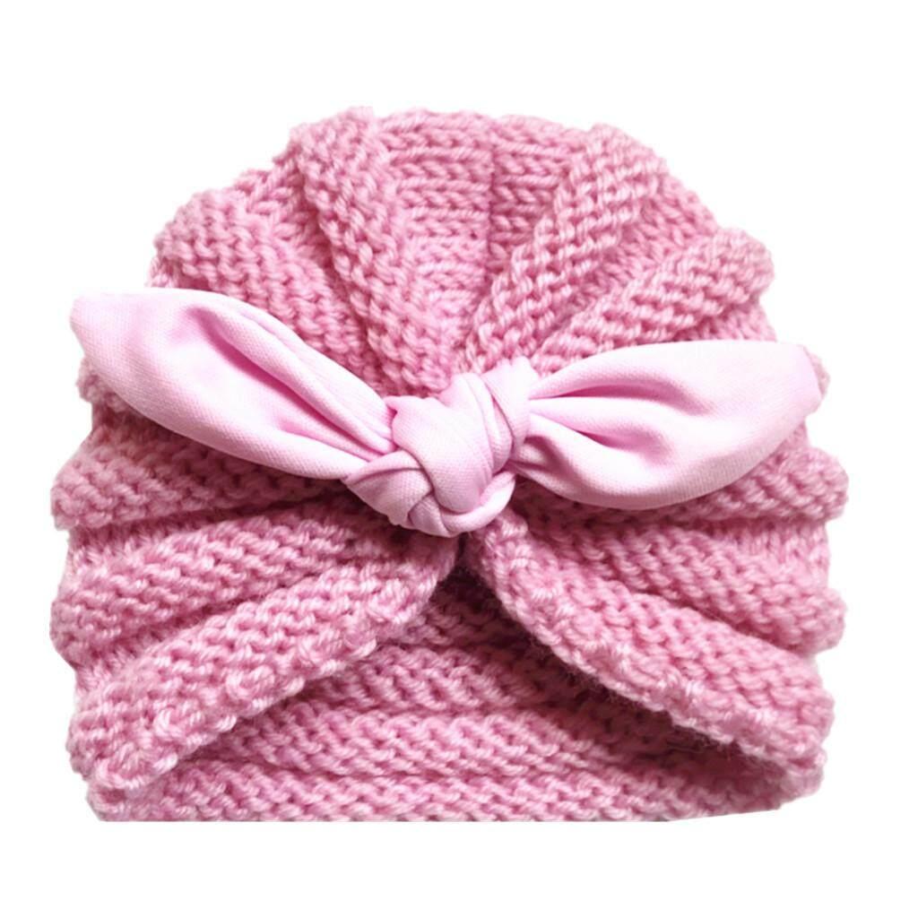 2a08a837926 Dotsonshop Free shipping Newborn Baby Boy Girl Knitted Turban Knotted Hat  Winter Warm Beanie Headwear Cap