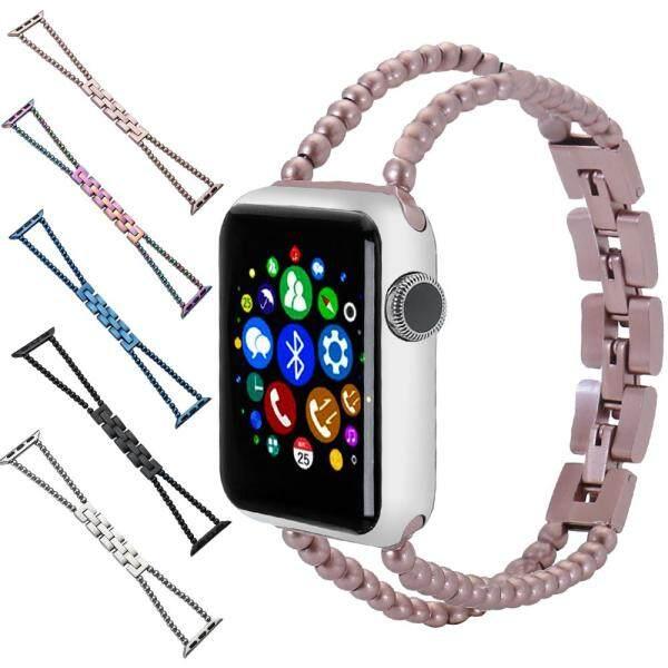 HOT Mới thiết kế dây đồng hồ bằng thép không gỉ cho Một-pple đồng hồ ban nhạc Series 4/3/2/1, nhà máy giá cho Tôi-Đồng hồ ban nhạc 38mm/40mm/42mm/44mm bán chạy