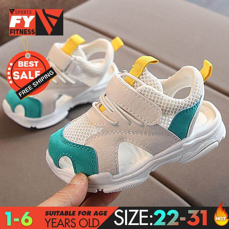 Children/'s sports shoes boys mesh shoes 1-6 years old girls baby toddler shoes