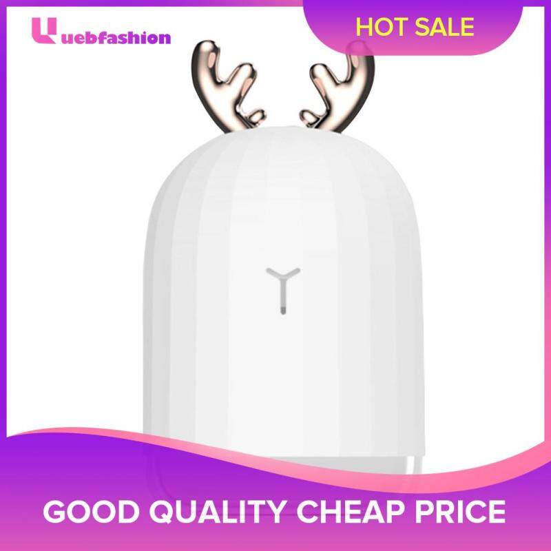 220ml USB LED Light Ultrasonic Air Humidifier Aroma Essential Oil Diffuser Singapore