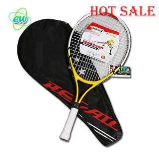Spot ew Trẻ Em Junior Trẻ Em Thể Thao Tennis Hợp Kim Nhôm PU Tay Cầm Vợt Bóng Thể Thao Ngoài Trời thumbnail