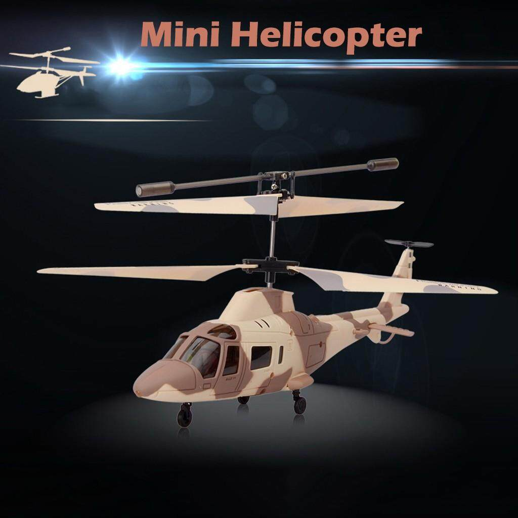 Vivimall Flying Mini Remote Control Helicopter Aircraft Flashing Light Toys For Kid Gift By Vivimall.
