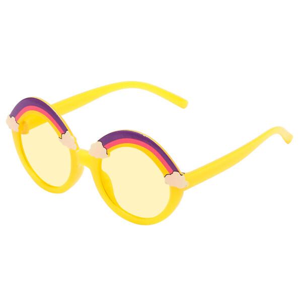 Giá bán COMEUPSTORE14E5 Kính Râm Trẻ Em Bé Gái Chống Tia UV Phong Cách Mới Hoạt Hình Dễ Thương Nhiều Màu, Cầu Vồng