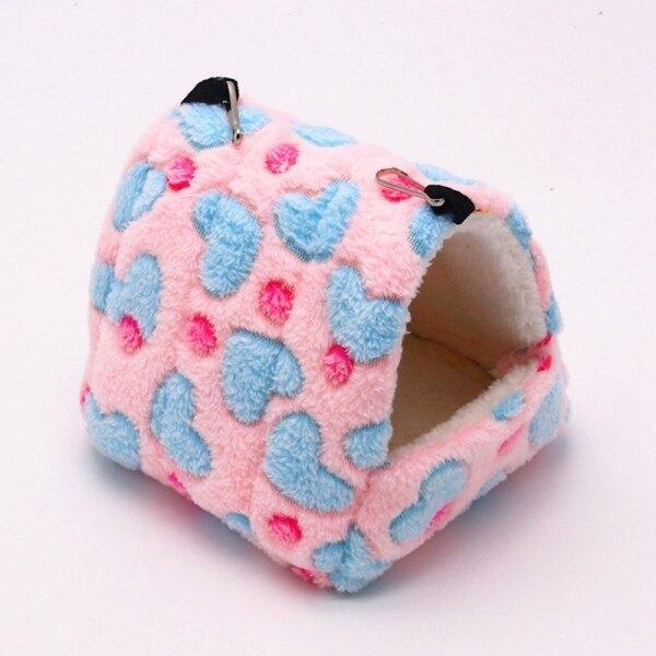 Thú cưng nhỏ túi ngủ tổ bông giường đồ chơi nhà ấm
