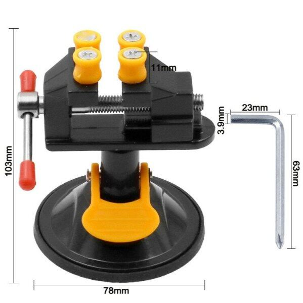 Suction cup Mini vise carving vise micro carving vise bench vice fixed clamp bed Vice Clamp