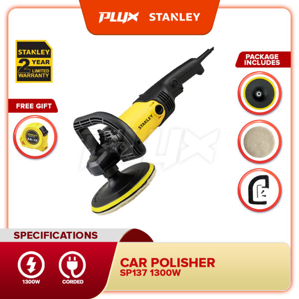STANLEY SP137-XD 180mm 1300W Compact Polisher (SP137)